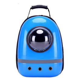Wholesale Capsule Shape - Pet Carrier For Travel Supplies Space Capsule Shaped Bag Breathable Backpack pet dog outside Travel bag portable bag cat carrier