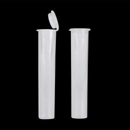 Atacado de alta qualidade à prova de crianças tubos de plástico recipiente para Kingpen 92a3 Latão Knuckles vape caneta cartucho e cig Limpar tubos de embalagem de