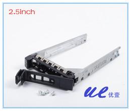 Wholesale Sas Server - Wholesale- F830C KF248 SAS 2.5'' hard drive tray caddy sled bracket for Servers 1900 1950 1955 2900 2950