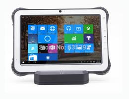 "Wholesale Fingerprint Scanners - Wholesale- Handheld laser 1D 2D barcode Scanner 10.1 "" rugged Tablet PC Windows 10 Waterproof Android Phone NFC 3G Fingerprint Reader"