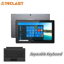 Teclast double caméra en Ligne-Teclast X3 Plus Tablette PC 2 en 1 de 11,6 pouces Windows 10 Caméras Dual Bluetooth Intel Celeron N3450 à 1,1 GHz, 6 Go et 64 Go