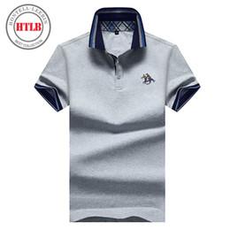 HTLB Marca Business Casual Ralphmen Camicie Uomo 2018 Moda Solid Casual  Classic maschile Camicie in cotone Camisas Masculina camicia di affari del  cotone di ... ca469ffff36