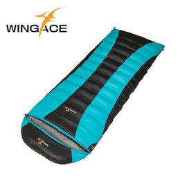 Wholesale duck down filled sleeping bag - Fill 400G 600G 800G Duck Down Sleeping Bag Ultralight Large Size Spring Autumn Camping Hiking Envelope Sleeping Bag Outdoor Bags