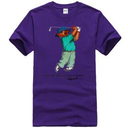 Image blanche de t shirt en Ligne-Vintage t-shirt POLO sport Bear Golf blanc des années 90, taille S-3XL USA