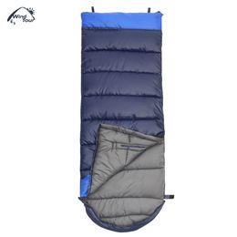 Estilo de atualização on-line-Edição atualizada WIND TOUR Adult Outdoor Hand Unbound Espessamento Envelope Style Sleeping Bag