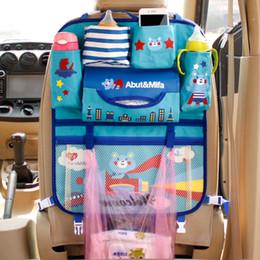 assentos de tecido de bebê Desconto Saco de fraldas de suspensão assento traseiro multi-bolso do assento de carro de suspensão auto organizador titular tecido oxford para o bebê mama crianças crianças