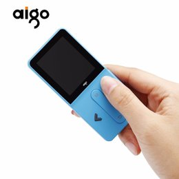 """Wholesale Audio Video Speakers - Aigo MP3 Portable Music Player 1.8"""" TFT Screen Rechargeable MP3 Player Support Audio Video Album function with Earphone"""
