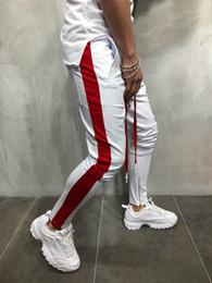 Sport hosen tanzen online-Herren Hiphop Tanzen Street Jogger Hosen Pantlones Mode Bleistift Reißverschluss Designer Hosen Jogginghose Sportbekleidung