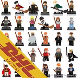 Wholesale Harry Potter Kid - Wholesal Mix Lot Harry Potter Minfig 30 Types Harry Potter Figures Harry Potter Hermione Ron Figure Mini Building Block Figures Toy for Kids