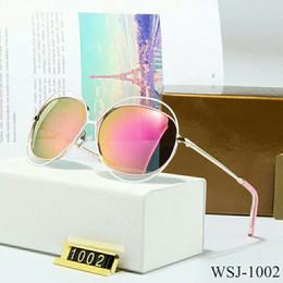 7b32d4d5d44 Top Fashion Brand Pilot Sunglasses Designer Sun Glasses For Men Women tom  Gradient Alloy Metal Gold Blue Glass Lens 58mm Original Box  1002