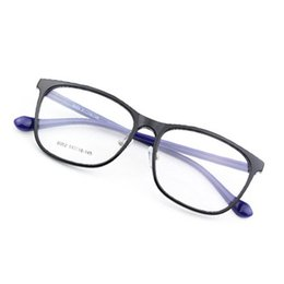 Wholesale Spectacle Frames Light - 2018 Fashion Light Weight glasses frame TR90 Full Men Women Unisex square Eyeglasses Frames Spectacle Optics Glasses Frame