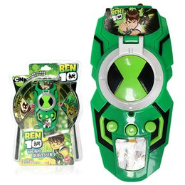 Wholesale console metal - 2018 New Ben 10 Omnitrix Toys Alien Force AVG Adventure Games ACT Action Figure Console Children Gifts