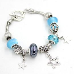 Nouvelle arrivée en gros perle Bracelet étoile Bracelet T-bar bascule plus étroit braceletBracelet perlé bracelets cadeaux pour femmes bijoux bijoux ? partir de fabricateur