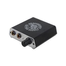 Mini Tattoo Supply Pocket Power Box Kundenspezifische LOGO Silber und Schwarz Farbe Durable Power Supply mit Kabel von Fabrikanten