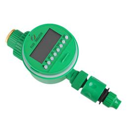 Temporizador de riego de la planta online-Temporizador automático del sistema de irrigación de la pantalla LCD de la flor de la planta de riego
