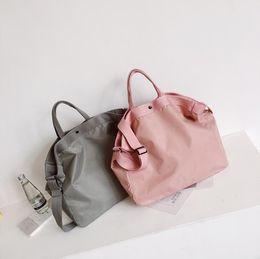6c9ef84fd1 Man Gym Handbag Brand Fashion Women Nylon Shoulder Bags Solid High School  Students Bookbag Portable Messenger Travel Bags DHLFree shipping