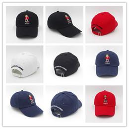 Недорогие мужские поло онлайн-Хорошие дешевые горячие POLOs медведь Мужчины Женщины Бейсбол Snapbacks футбольные шляпы мужские плоские шапки 5 цветов Cap спортивная шляпа mix заказ