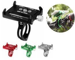 2019 suporte de telefone de alumínio Completa De Metal De Alumínio Liga Suporte de Telefone Celular para Bicicleta Da Motocicleta Mountain Bike Suporte Móvel para o iphone xs max x 8 note9 note8 huawei p20 suporte de telefone de alumínio barato