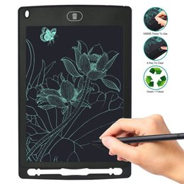 Wholesale Note Stylus - 8.5 Inch LCD Writing Tablet Drawing Board Digital Notepad Rewritten Pad for Draw Note Memo Remind Message