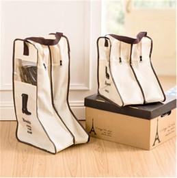 Wholesale Shoe Handbag Wholesalers - Nonwoven Fabric Bag Traveling Shoe Handbag Dustproof Boot Sleeve Visual Breathable Shoe Cover Moisture Proof New Pattern 7lh X
