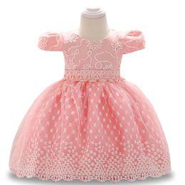 7978e5034 Baby Dress Party Summer Baby Girls Vestidos de princesa Todder Girls  Vestidos de fiesta Bautizo Girl 1 año Vestido de cumpleaños rebajas vestido  del bautizo ...
