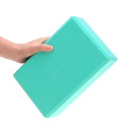 Wholesale Yoga Block Green - Women Yoga Props For Exercise Fitness Sport Yoga Block Foam Brick Stretching Aid Gym