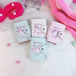 Wholesale Certificate Card - Printed Unicorn Certificate Bag New Pattern Document Package Creative Hold In The Hand Card Packages Cute 4 8la X