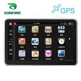"""Rückfahrkamera gps bluetooth online-5 """"Auto GPS Navigation Mit FM Radio 4 GB 128 Mt Truck GPS Navigatoren Rückfahrkamera Bildschirm mit Bluetooth Free Map Upgrade"""