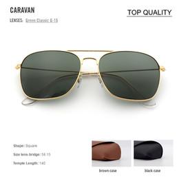 2018 atacado venda quente Nova Marca De Metal Óculos Das Mulheres dos  homens de Alta qualidade gafas caravan Designer de óculos de Sol uv400 com  logotipo ... 3444f7c99a
