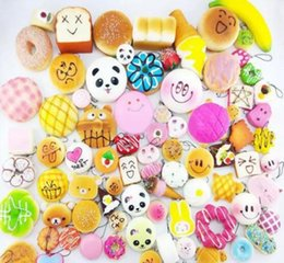 Wholesale Fruit Chain - The bread baking bread is partially wrapped in a Kawaii fruit bread baking bagel used in the mobile phone bag of the key chain factory direc
