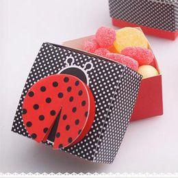 2019 festa favorisce le ali 50pcs scatole regalo 3D ala carino matrimonio Baby Shower favore Candy Box scatola di imballaggio di cioccolato per la decorazione del partito sconti festa favorisce le ali