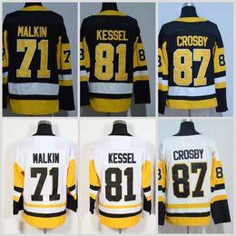 Wholesale red ads - 2018 AD Hockey Jerseys 87 Crosby 71 Evgeni Malkin 81 Phil Kessel Patric Hornqvist Matt Murray Mario Lemieux Men Youth Women Kids