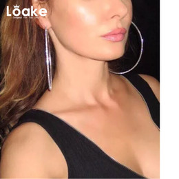Wholesale Antique Trade - whole saleLoake 2017 Fashion Hot Sail Small Hoop Earrings For W European Rhinestone foreign trade Accessories antique classic Bijoux