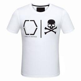 Wholesale Mens Design Shirts - Medusa New Arrival Fashion Style European And American Skulls Print Design Mens Casual Short Sleeved T-shirt Hot Sale