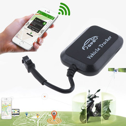 Wholesale Motorcycle Trackers - GT008 Mini GPS Tracker Locator Real Time Tracking System Device GPS Locator for Car Vehicle Motorcycle GPS_60L