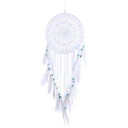 Wholesale Music Suppliers - China catcher dream Suppliers Handmade Dream Catcher With Feathers Car Wall Hanging Decoration Gift Room Decor Dreamcatcher