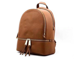Wholesale Backpack Cooler Pocket - Hot Sell Classic 2018 Luxury brand cool New Fashion men designer Backpacks Wholesale Leather PU Backpack School computer Bags free shipping
