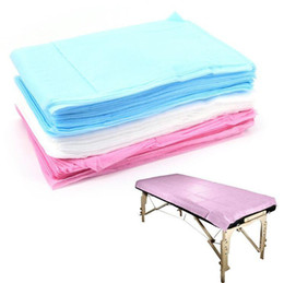 Massage-specials online-Medizinische Einwegmassage Spezielle Vliesbettauflage Schönheitssalon SPA Bettlaken 80 * 180 cm