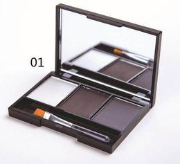 potenziatori di colore degli occhi Sconti Sevich Eye Brow Makeup 3 Color Sopracciglio in polvere Vendita calda Professionale Ombretto Impermeabile Cosmetici Brow Enhancers