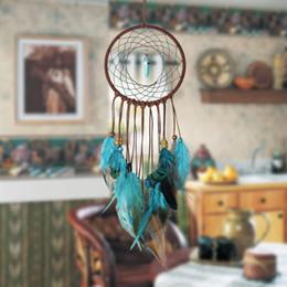 Canada 3pcs / lot Inde vie rétro arbre coloré plume Dream Catcher vent carillons suspendus Dreamcatcher fête de Noël décoration de la maison cheap india home Offre