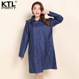 Wholesale waterproof overcoat - KTLPARTY Womens Fashion raincoats poncho female outdoor travel rainwear lady waterproof sunscreen walking overcoats