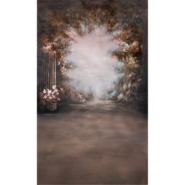 Дерево онлайн-Картина маслом стиль цветы фотографии фонов для свадьбы таинственные лесные деревья дети фотостудия портрет фон винил ткань