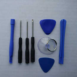 Wholesale s3 repair - 8 in 1 Opening Pry Tools Screwdriver Repair Kit Set Screwdriver For iPhone 6 5 5s 4 4S 4G 3G 3GS For iPod For Samsung S4 S3