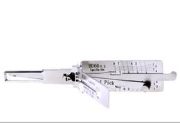 2019 audi lock pick tools Venda quente melhor lishi lock pick ferramentas automáticas 2em1 escolha lishi HU66 v.3 bloqueio pick e decodificador para VW, Audi, Skoda, ASSENTO, Roewe 550, etc BK197 audi lock pick tools barato
