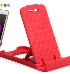 Soportes de plástico para tabletas online-Mini soporte para teléfono móvil plegable Soporte de teléfono perezoso de plástico Cama Pantalla teléfonos Accesorios Tableta Samsung Galaxy Xiaomi