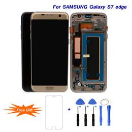 Deutschland Für Samsung Galaxy S7 edge 5,5 '' Super AMOLED LCDs Ersatz Beste LCD Display Digitizer Assembly für G935 G935F Repair Tools cheap samsung galaxy s6 lcd assembly Versorgung