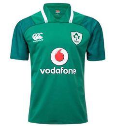 Wholesale Irish Rugby Shirt - Ireland 2017 2018 rugby Jerseys Irish IRFU NRL National Rugby League rugby shirt nrl jersey 17 18 Irishman shirts s-3xl