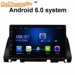 Wholesale Navi Radio - Ouchuangbo car audio gps navi stereo android 6.0 for Kia K5 2016 with USB dual zone bluetooth BT aux