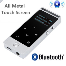 Wholesale 8gb Touch Music Player - Newest Version Original Touch Screen MP3 Player 8GB BENJIE S5 S5B High Quality Entry-level Lossless MP3 Music Player with FM