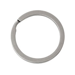 Discount silver circle key ring - DoreenBeads Stainless Steel Key Chains Key Rings Circle Ring Silver Tone 3.0cm(1 1 8